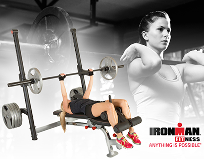 IRONMAN Fitness - Social Media Product Ads