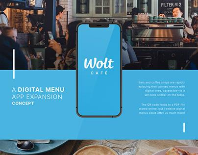 Wolt Cafe, Concept
