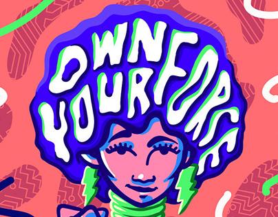 Owning It / Fak'ugesi Poster Illustration