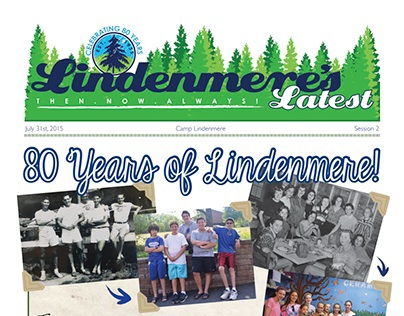 Newspaper Design: Lindenmere's Latest