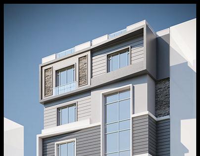 Residential Building Facade Design