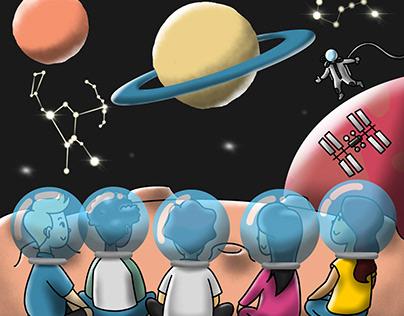 Planetarium Story for Children