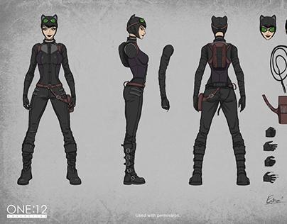 Mezco Catwoman 1:12 High-end action figure