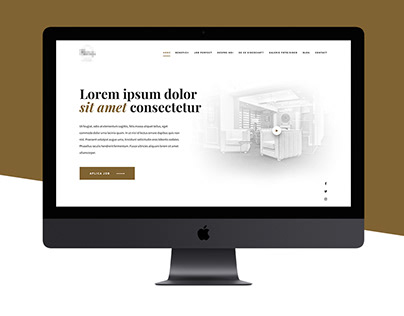 Modelling Agency Landing Page