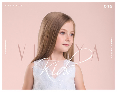 VINEYA KIDS | Dress Boutique Branding
