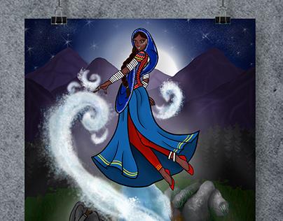 Character Design | Sindh Ji Devi