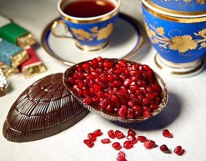 Grenade de chocolat