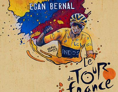 Egan Bernal Mural
