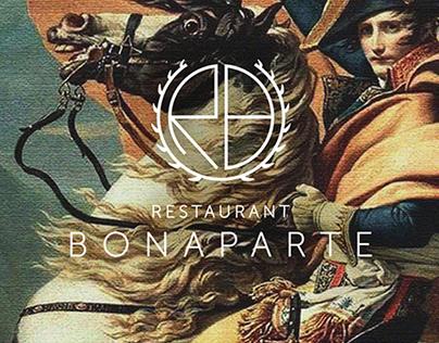 Publicité du restaurant Bonaparte