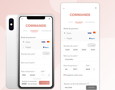 DAILY UI 02 | Credit Card Checkout