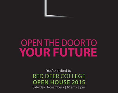 RDC Open House poster