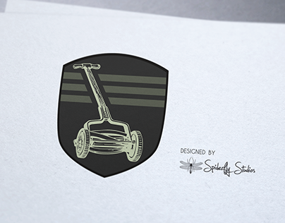 Amar Lawnmower Shop - Logo Design