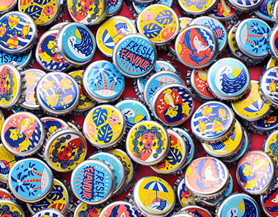 Flying Fish Feel the Flavour Bottle Caps