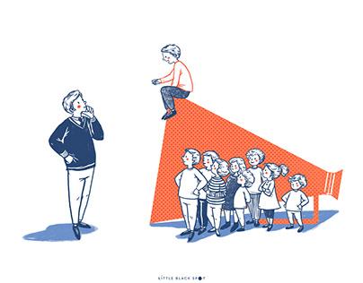 Editorial Illustration: REVISTA RUA