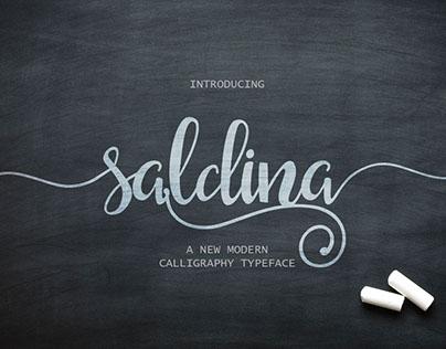 Saldina Script (Free Demo)