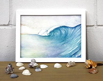 Watercolors' sea