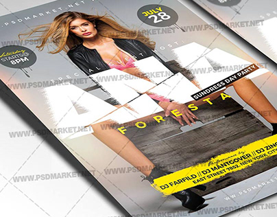 Special Guest Event Flyer - PSD Template