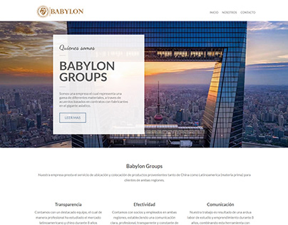Babylongroups pagina web