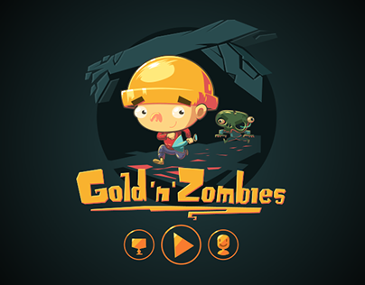 Gold'n'Zombies  (HTML5 game)
