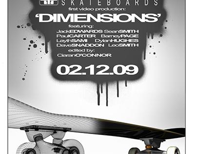 Motive Skateboards Dimensions: Print Advert