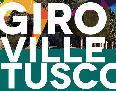 POSTER / LOCANDINA - Giro delle Ville Tuscolane