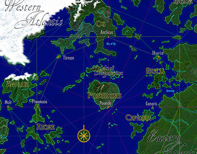 the 10 Kingdoms of Atlantis