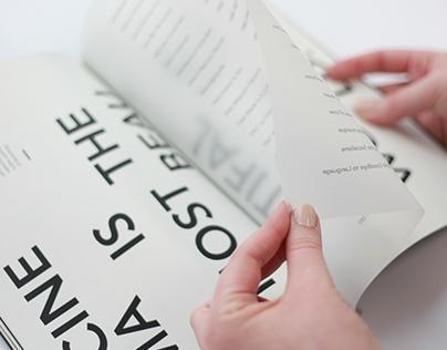 Jean-Luc Godard D&AD Monotype Publication