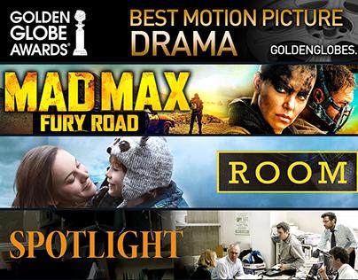 Golden Globes 2016 - Drama