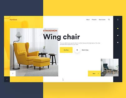 FREEBIE - Furniture Web UI