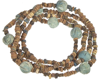 Sadigh Gallery collection: Ancient Egyptian necklace