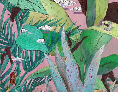 Waldeinsamkeit-Through The Plant/暧昧植物丛