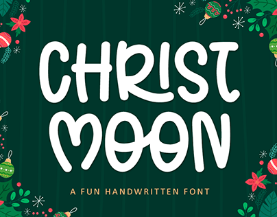 Christ Moon Font