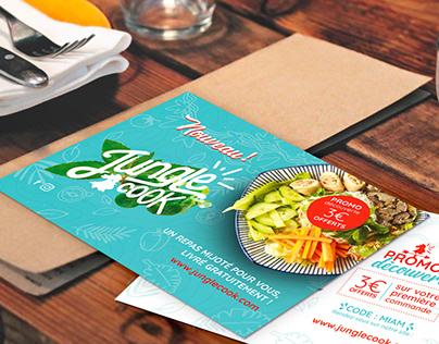 BRANDING   Jungle Cook - World Cuisine Restaurant