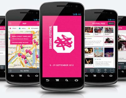 Brisbane Festival 2012 - Android App