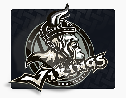 Vikings Hockey Club / Logodesign / Webdesign