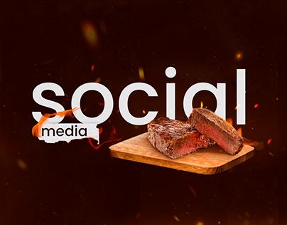 Social Media • Churrascaria