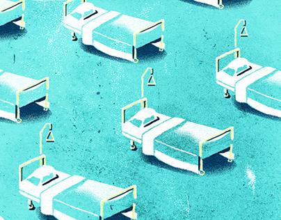 A travers le confinement - La lutte des soignants