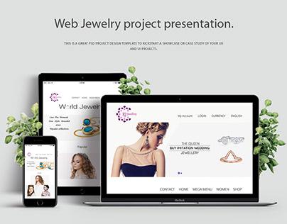 Latest Jewellry design UI/UX Designr