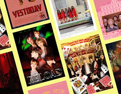 K-pop Songs as Movie Posters