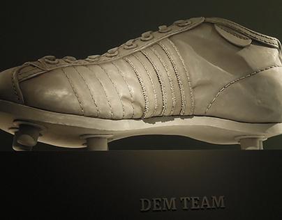Helmut Rahns Soccer Shoe from 1954 (2015)