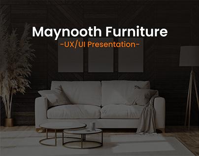 Maynooth Furniture UX/UI Presentation
