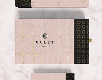 Culet Jewellery . Branding and Packaging
