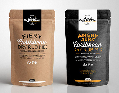 The Jerk co. Branding