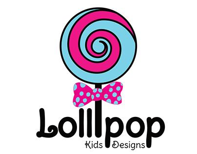 Lollipop Kids Design Logo