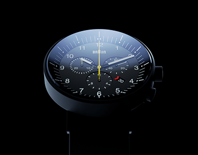 ▼▲ Once In A While Renders № 62 Braun Prestige Chrono