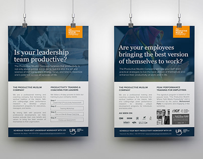 Productive Muslim Corporate Brochures
