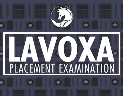 Lavoxa Placement Exam 2017