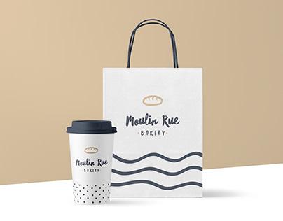 Bakery Logo & Packaging Design - Moulin Rue