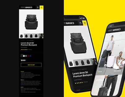 NewBreed - Web Design
