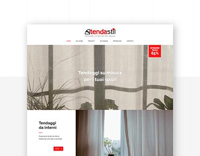 Tendastil - Website Restyling